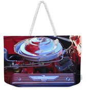 1955 Ford Thunderbird Engine Weekender Tote Bag
