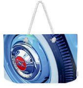 1955 Gmc Suburban Carrier Pickup Truck Wheel Emblem Weekender Tote Bag