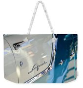 1955 Pontiac Safari Station Wagon Emblem Weekender Tote Bag