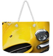 1956 Buckle Gt Coupe - Badge Grill Headlight Weekender Tote Bag