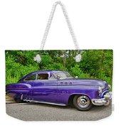 1956 Buick   7767 Weekender Tote Bag