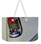 1956 Chevrolet Belair Taillight Emblem Weekender Tote Bag