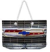 1956 Chevrolet Grill Emblem Weekender Tote Bag
