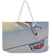 1956 Chrysler Windsor Town And Country  Hood Ornament Weekender Tote Bag