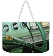 1956 Dodge Coronet Steering Wheel Weekender Tote Bag