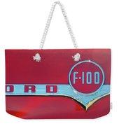1956 Ford F100 Weekender Tote Bag