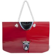 1956 Ford Fairlane Hood Ornament 7 Weekender Tote Bag