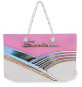 1956 Ford Fairlane Sunliner Weekender Tote Bag