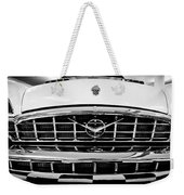 1956 Packard Caribbean Custom Cvt Weekender Tote Bag