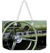 1956 Thunderbird Interior Weekender Tote Bag