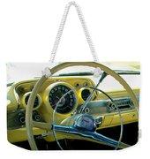 1957 Chevy Bel Air Dash Weekender Tote Bag