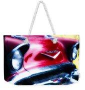 1957 Chevy Weekender Tote Bag