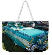 1957 Chevy Convertable Weekender Tote Bag