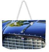 1957 Chrysler 300c Grille Emblem Weekender Tote Bag