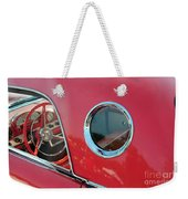 1957 Ford Thunderbird  Weekender Tote Bag