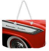 1957 Nash Ambassador Custom Weekender Tote Bag