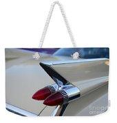 1958 Cadillac Tail Lights Weekender Tote Bag