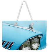 1958 Chevrolet Impala Fender Spear Weekender Tote Bag