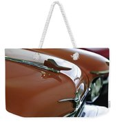 1958 Chrysler Imperial Hood Ornament Weekender Tote Bag