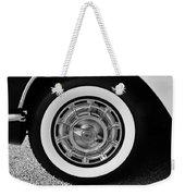 1958 Corvette White Walls Weekender Tote Bag