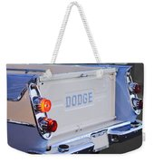 1958 Dodge Sweptside Pickup Taillight Weekender Tote Bag