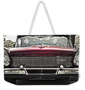 1958 Lincoln Continental Weekender Tote Bag