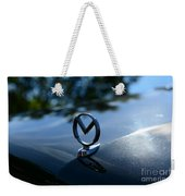 1958 Mercury Park Lane Hood Ornament Weekender Tote Bag