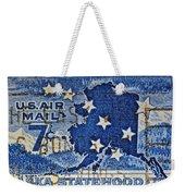 1959 Alaska Statehood Stamp Weekender Tote Bag