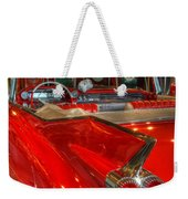 1959 Cadillac At The Pumps Weekender Tote Bag