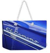 1959 Chevrolet El Camino Emblem Weekender Tote Bag