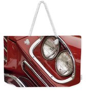 1959 Chrysler 300 Headlight Weekender Tote Bag