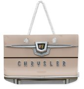 1959 Chrysler New Yorker Emblem Weekender Tote Bag