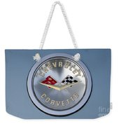 1959 Corvette Emblem Weekender Tote Bag