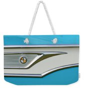 1959 Edsel Corvair Side Emblem Weekender Tote Bag