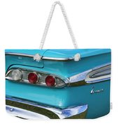 1959 Edsel Corvair Taillights Weekender Tote Bag