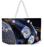 1959 Jaguar S Roadster Headlights Weekender Tote Bag