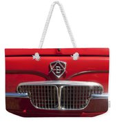 1960 Autobianchi Bianchina Transformabile Coupe Hood Emblem Weekender Tote Bag