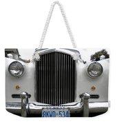 1960 Bentley Front Weekender Tote Bag