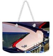 1960 Cadillac Eldorado Taillights Weekender Tote Bag