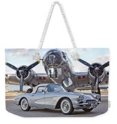 1960 Chevrolet Corvette Weekender Tote Bag
