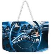 1960 Chevrolet Impala Steering Wheel Weekender Tote Bag