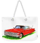 1960 Edsel Ranger Convertible Weekender Tote Bag