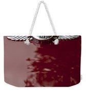 1960 Morgan Plus Four Drophead Coupe Hood Emblem Weekender Tote Bag