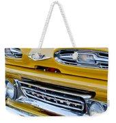 1961 Chevrolet Front End Weekender Tote Bag