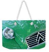 1961 Citroen 2cv Landaulet Hood Emblem Weekender Tote Bag