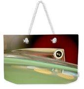 1961 Ford Galaxie Convertible Hood Ornament Weekender Tote Bag