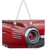 1961 Ford Thunderbird Taillight Weekender Tote Bag
