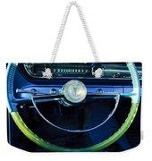 1961 Pontiac Catalina Steering Wheel  Weekender Tote Bag