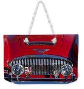 1962 Austin-healey 3000 Mkii Grille Weekender Tote Bag