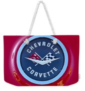 1962 Chevrolet Corvette Emblem Weekender Tote Bag